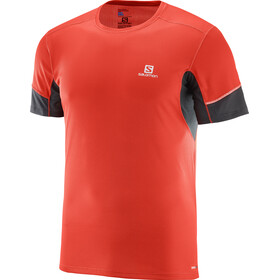Salomon Agile Running T-shirt Men red/black